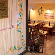Ingresso ristorante a Norcia