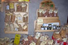 Fagioli e prodotti biologici