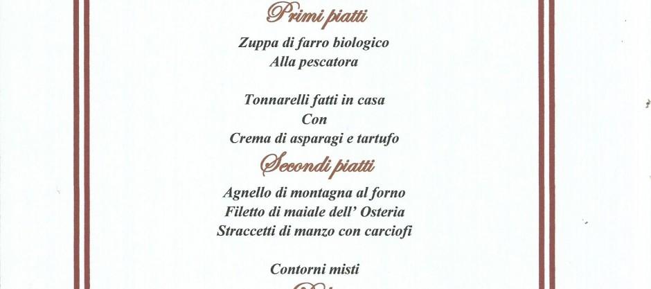 menu di pasqua 2016